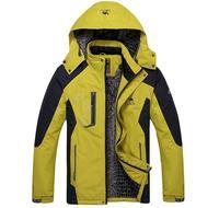 2014 new winter men's cotton jacket, outdoor windproof , waterproof, warm, male sports cotton coat . Big yards Men warm jacket