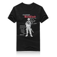 2014 New Men's T shirt summer short-sleeved T-shirt men's wild fashion T-shirt