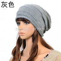 2014 best-selling winter wool cap knitted fashion brand women hat winter sports warm hat ear cap Skullies & Beanies 5 colors