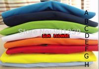 10 pcs/lot 2014 Free shipping mens fashion sport long sleeve t shirt 8 color can choose size:M-XXL via EMS