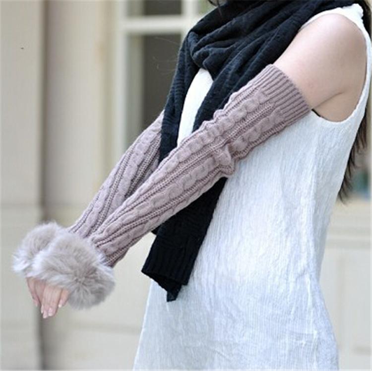 Кружевные перчатки без пальцев своими руками 5