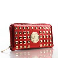 PROMOTION 2014 Fashion famous Designers m1008 Brand Michaeled k Selma wallet women purse PU LEATHER women's long design wallet