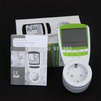 EU Plug Power Energy Watt Voltage Amps Meter Analyzer with Power Electricity Usage Monitor Digital Energy Meter Watt Wireless
