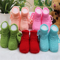 Free shipping Crochet Photography prop handmade shoes for baby