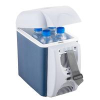 AEFA Car Refrigerator Car and Home Dual 7.5 Liters Of Hot and Cold Box Car Refrigerator Mini Fridge Nevera