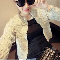 New 2014 winter casual sweater cardigan women coat  autumn