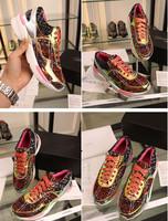 Luxury Designer Genuine Leather Women Sport Running Shoes Fashion Weave Brand Ladies Winter &Autumn Paris Fashion Week Sneakers