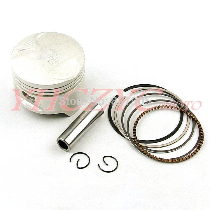 Free Shipping For HONDA NT400 BROS (NC25) Motorcycle High Quality Chromium-faced aluminium piston rings kit(China (Mainland))