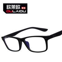 8145 eyeglass frame 2013 new summer myopia glasses frame small frame motion elastic matte black flat mirror