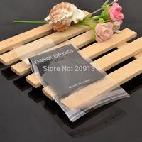 100Sets Black Earring Plastic Card + Plastic Bag Set Jewelry Earring Card bag OPP Packing Earring Card Package Set Material
