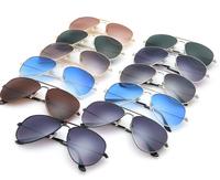 sunglasses factory plating wholesale 100pcs 400usd with R B logo and original box free EMS colorful film super quality 3025 3026