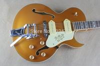 Classic  F-hole ES295 Hollow jazz big rocker electric guitar