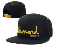 HOT Letter Diamond cap bone Snapback cap men's Hip Hop cap Baseball hat for women adjustable gorro hats Adult unisex 6style
