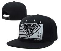 NEW Arrival Swag Diamond cap bone Snapback caps for men Hip Hop hat Baseball cap women adjustable gorro hats Adult casual 6style
