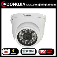 QA-IP3129HD onvif PSIA P2P support audio 720P 1 Megapixel 25m IR Mini DOME IR IP Camera