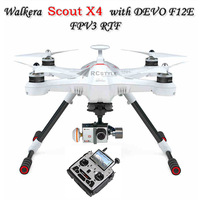Walkera Scout X4 with DEVO F12E GPS Without iLook + Camera RC Quadcopter RTF 5.8GHz for Gopro 3