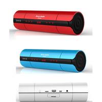 Wireless Bluetooth NFC portable mini travel speaker 3D stereo surround sound super bass loudspeaker with FM TF/Udisk port