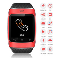 """2014 Newest Touch screen smart watch sync android 1.54"""" S12 china smart watch mobile phone"""