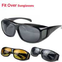 Plastic LensCovers Sunglasses Fit Over Sun glasses Wear Over Prescription Glasses Size Medium For Men Outdoor Sports Cycling