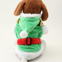 2014 Fashion Plaid pet apparel dog clothes warm velvet clown installed two pet supplies wholesalewinter pet  dog clothes