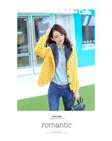 Women Cute Warm Thick Sweater Cardigan Coat Long Sleeve Hoodes Knitwear Free Shipping FZ26202631