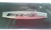 Metal Aluminum AMG Edition EMBLEM LOGO