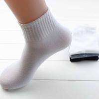 2014 NEW Pure Color Men Socks for Summer Socks & White,Gray,Black  (Free Size)