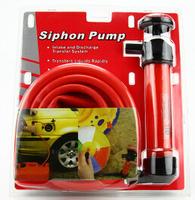 Sighon Pump Kit Transfer Water Oil Fuel Kerosene with  Fluid Syphon Hose