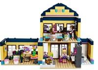 Girl friends Heartlake City School DIY assemblage block sets as girl's gifts