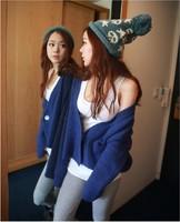 2014 Winter Warm the  knitted drop caps women's cap
