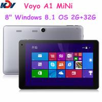 8 inch Original VOYO Winpad A1 MINI Intel Quad Core Windows 8 Tablet PC 2G 32GB Dual cameras HDMI Bluetooth Win8 Tablet PC
