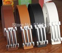Hot sale 100% Genuine leather belts for men&women 110CM to Choose famous brand men women belts frss shipping