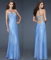 Sexy Elegant Mermaid Sweetheart Appliques chiffon Crystal Evening Dress Gown for Mother Party Wedding Custom Made Any Color&Size