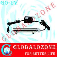 UV light sterilizer for swimming pool water 12g