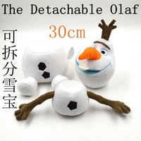 Faddish Latest 2014 The Frozen Olaf plush dolls Olaf snowwhite man stuffed&animal plush toys,Free shipping.