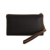 2015 New Men's handbag Genuine Leather Men Clutches vintage in good taste concise design bag for men