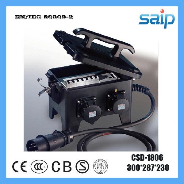 Saip Newest PC IP65 IP67 Portable Distribution Enclosure CSD-1806(China (Mainland))