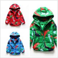 Children's down jacket 2014 winter new baby boys girls small children wear thick down jacket Korean
