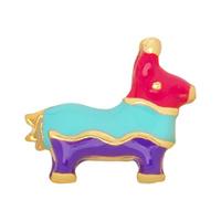 20pcs/lot Free Shipping Fashion Alloy Diy Enamel Donkey Pinata Floating Charm For Origami Owl Memory Living Locket