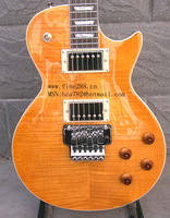free shipping new electric guitar in orange made in China f-094 +free shipping+soft-case