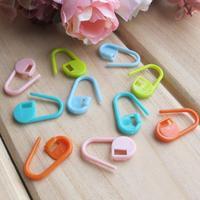 Plastic 20pcs Mix Mini Knitting Crochet Locking Stitch Markers Holder Needle Clip Craft HOT SALING
