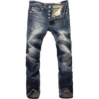 [CPS] Free Shipping retail(1piece) fashion 2013 high quality Nostalgic retro beggar hole cotton DI brand men's jeans #9003