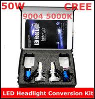 New CREE LED Headlight Conversion Kit 9004 50W 5000K 2*25Watt LEDs Lamp