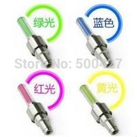 Wholesale 200PCS Bike Bicycle Cycling Car Tyre Wheel Neon Valve Firefly Spoke LED Light Lamp including battery