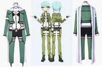 Sword Art Online 2 Phantom Bullet Gun Gale Onlin Sinon Cosplay Costume Halloween gift