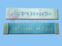 Custom garment labels high quality/wowen garment labels/clothing labels 10000pcs/lot