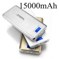 Cargador Portable 15000mAh Power Bank External Battery Universal USB Charger For iphone 6 5S 5C 4S ipad Samsung Galaxy S5 S4 S3