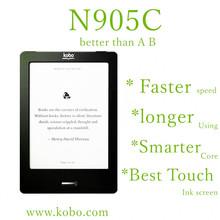 Kobo N905C WIFI lector de libros electrónicos de tinta electrónica de pantalla táctil Livros Livro , libro electrónico , no glo wifi , ereader , tinta , libros , envío libre(China (Mainland))