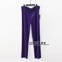 H47 new type of Dress XL velvet waisted wide leg pants