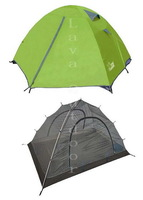 Free Shipping Camping 2-Man Tent - 3-Season,2-Layer,High Quality,Nice Water-Proof,Well Breathability,Aluminium Pole,Anti-UV